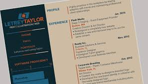 how to design a resume that stands out   design shackthe best resumes to ever cross my desk were those that really showed creativity