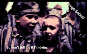 the boy in the striped pajamas shmuel and bruno in the gas chamber bruno and shmuel the