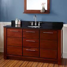 bathroom vanity 60 inch: virtu wayfair caroline  single bathroom vanity set with mirror  inch