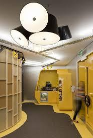 civill engineering interior architects decorator brighton design civil designer firms architecture yellow cabinets shelves lighting ceiling futuristic architectural office interiors