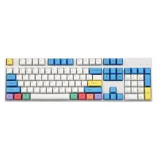 YMDK 108 Key Cherry Profile ANSI Laser Engraved <b>PBT Chalk</b> ...