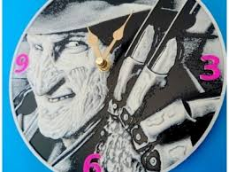 Reloj / Clock <b>Freddy Krueger</b> 3D <b>Printing</b> Model