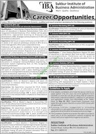 sukkur sukkur institute of business administration iba jobs  sukkur sukkur institute of business administration iba jobs 2017