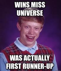 bad luck brian meme via Relatably.com