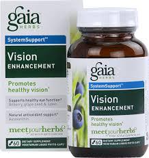 Gaia Herbs <b>Healthy Vision</b> -- <b>60</b> Liquid Phyto Caps - Vitacost