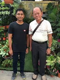 sab putra nursery g an interview the owner of delima the owner of delima tani mr albert goh seng kok