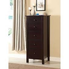 Shop Furniture of America Wal <b>Solid</b> Wood 5-drawer <b>Storage Chest</b> ...