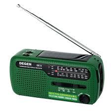 Degen <b>DE13 Radio FM AM</b> SW Crank Dynamo Solar Power ...