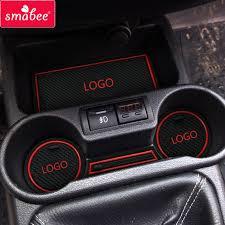 smabee <b>car Door groove</b> mat For Lada Kalina Accessories,3D ...
