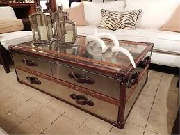 room vintage chest coffee table: stunning vintage trunk coffee table steamer trunk coffee tables houzz myfurnituredepo