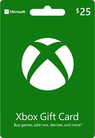 Microsoft - Xbox $25 Gift Card