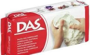 <b>Масса, для лепки</b>, <b>DAS</b>, 500 г, белая | Буквоед Арт. 387000