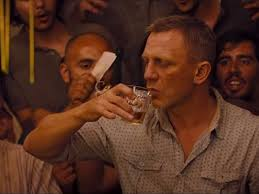 Image result for Daniel Craig with a hangover