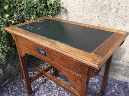 arts crafts oak table antique office furniture equipment 2 antique office table