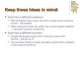 journalism writing vs english writing      jpg cb    argumentative essay examples education