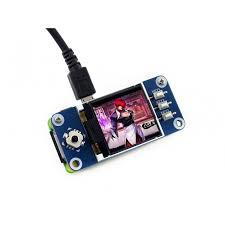 <b>Waveshare 1.44inch LCD display</b> HAT for Raspberry Pi (128x128)