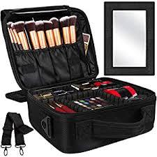 Kootek 2-Layers Travel Makeup Bag, Portable Train ... - Amazon.com