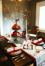 Holiday Dining Room Decorating Red And Gold Christmas Decorating Ideas Red And Gold Christmas