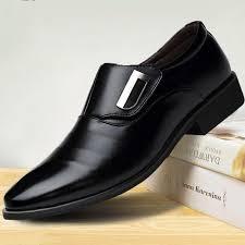 <b>WHOHOLL</b> 2018 Man Flat Classic Men <b>Dress Shoes</b> PU Leather ...