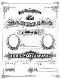 antique ephemera clip art printable marriage certificate the antique ephemera clip art printable marriage certificate