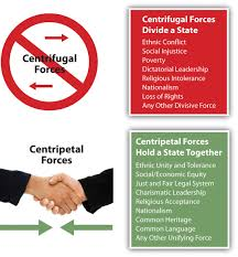europe centrifugal and centripetal forces
