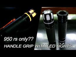 Rizoma <b>handle grip</b> with LED lights   <b>for KTM</b> DUKE   BEST BUY ...