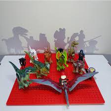 <b>Assemble Building Blocks</b> Dinosaur World Pterosaurs Triceratops ...