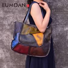<b>EUMOAN</b> Brand Women Genuine <b>Leather</b> Shoulder <b>Bags</b> Causal ...