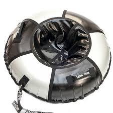 <b>Тюбинг SnowShow Практик 90cm</b> Black Silver в Химках по ...