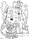 Противопожарная безопасность картинки раскраски