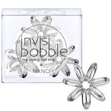 <b>invisibobble Nano</b> Hair Tie (3 Pack) - Crystal Clear | Free Shipping ...