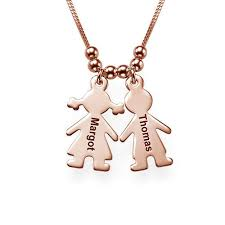 Children Custom Names Personalized Children Charms Necklace ...