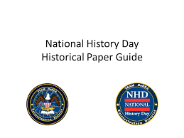 Categories   National History Day   NHD