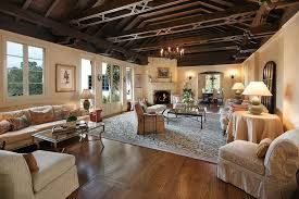 fascinating craftsman living room chairs furniture: large craftsman living room with hardwood flooring and dark wood ceiling