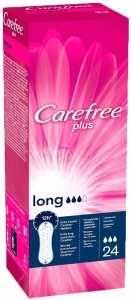 Ежедневные <b>прокладки CAREFREE Plus Long</b>, 24шт купить с ...