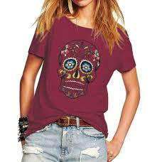 top 10 most popular <b>floral skull</b> tee ideas and get free shipping - a593