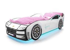 <b>Кровать</b>-<b>машина</b> для мальчика (82 фото): детская кроватка ...