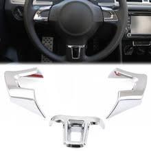 ABS <b>Хромированная накладка на руль</b> наклейка для Volkswagen ...