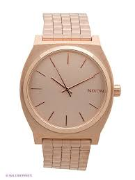 NIXON <b>Наручные часы</b> Time Teller All Rose <b>Gold</b> (A045) NIXON ...