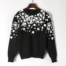 New 2017 <b>autumn</b> winter fashion <b>women elegant floral</b> appliques ...