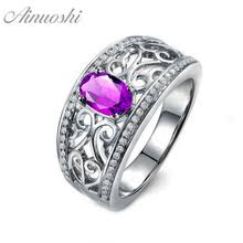 Женское <b>кольцо</b> AINUOSHI, Винтажное <b>кольцо</b> из натурального ...
