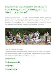 arbonne business information pack