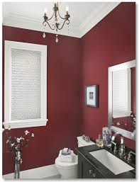 room paint red: i am thinking this color for my basement living room another pinner said if youre going to do a really bold colour no better place then a small powder
