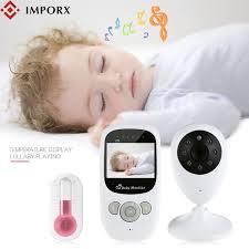 2019 <b>IMPORX</b> New <b>Baby Monitor</b> 2.4 Inch <b>LCD</b> Wireless <b>Baby</b> ...