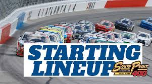 NASCAR Starting Lineup for Sunday