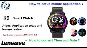 <b>K9 Smart Watch</b> - Unboxing, date and time setup and feature review ...