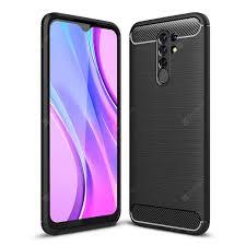 <b>ASLING Carbon Fiber</b> Series TPU Phone Cover Case for Xiaomi ...