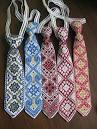 Галстуки с вышивкой
