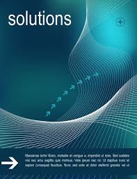 creative cover page design templates in word intelligent solutions cover page design