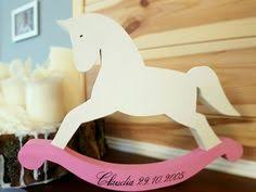 1pc white wood horse custom name date personalised engraved wedding party birthday baby shower kids favors gifts diy craft
